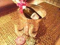 スパークリングワインで素敵な時間を演出。