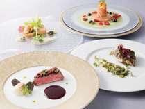 <フェアウェル記念>仏蘭西料理「プルミエ」特別コース付きプラン(6月~8月ご宿泊)