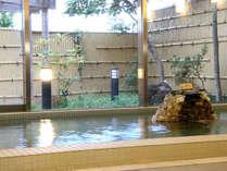 ■有効成分が豊富な天然温泉の内湯です。