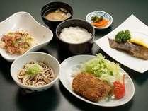【夕食】《日替わり夕定食(数量限定)》¥980