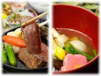 【お食事はお部屋でゆっくりと♪】選べるメニューでご当地グルメを堪能グレードアッププラン♪