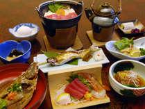 料理の一例です。季節の食材にこだわっております。