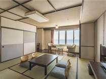 【夕朝食付】期間限定海側確約!夏のご旅行応援・津軽海峡を一望できる展望露天風呂で癒しのひとときを