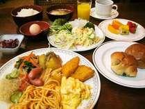 ご朝食バイキング(盛り付けイメージ)