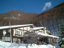 カントリーハウス渓山荘 冬景色