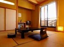 *ほっとする居心地の良い和室(一例)心休まるひと時をお過ごし下さい。