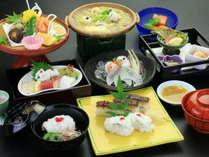 夏の味覚といえば鱧!白身で淡泊ながら上品な味を様々な調理法でお楽しみください。