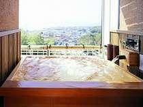 山野草:お部屋の露天風呂