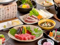 認証近江牛ステーキがメインの会席(イメージ)