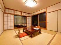 *和室10畳(客室一例)/畳の香りがほのかに薫るお部屋でのんびりとお過ごし下さい。