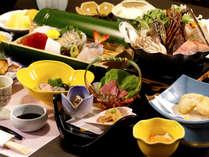 【夕食】季節ごとの美味をご堪能下さい(秋冬一例)