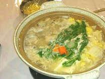 【冬のおすすめ鍋】6500円~でお得!旨みたっぷり&ぽっかぽか♪鶏肉と根菜のしょうが鍋プラン