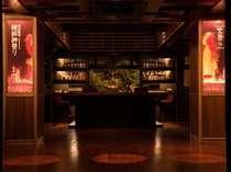 ☆和の要素を取り入れて、モダンな雰囲気を醸し出す「Bar火祭り」は1階ロビーに併設