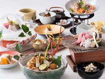 夕食 「贅沢会席料理」