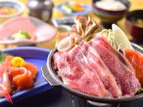 日替わり和膳 白馬の雪中野菜や信州の恵みたっぷりのお料理をお楽しみいただけます。(写真は一例です。)