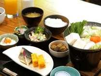 白馬の日替わり朝食(和朝食)※朝食は日によって和食やバイキングなど異なります。