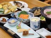 夕食:白馬御膳(内容は日替わり 3,500円)