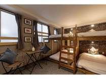 大人数部屋2段ベッド