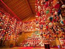 冬季開催。いしだの二千体ひな飾り(1月中旬~4月初旬)