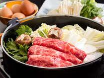 柔らかいお肉が人気 信州牛のすき焼き