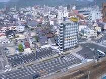 ホテル外観です。【スーパーホテル鳥取駅北口】