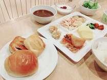 健康朝食で朝から元気いっぱい!!
