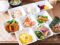 【Organic】スーパーホテルの朝食はお客様の活力になるよう素材にこだわったメニューを沢山提供しています