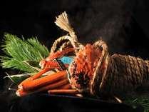 年に一度の贅沢★しめ縄蒸し&蟹すき鍋に蟹雑炊♪タグ付き活ずわい蟹づくし会席「極み」 1泊2食付