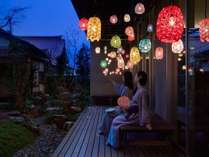【加賀水引の灯り】夏限定!伝統工芸に癒される宵涼み♪