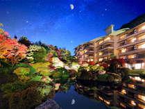 【外観】 磐梯熱海温泉 四季彩一力へようこそ。彩り豊かな癒しの時間をお愉しみください。