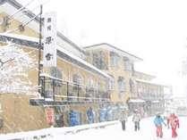 白馬八方尾根ゴンドラ駅から徒歩2分の宿 旅館 深雪