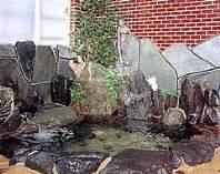 岩風呂の温泉でゆっくりと疲れを癒して下さい