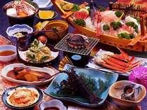 三五郎SP♪舟盛り、伊勢えび、あわび、さざえ付プランの夕食一例