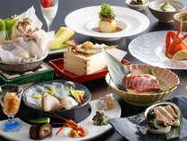 【冬季限定】淡路島3年とらふぐとグルメ食材が楽しめるふぐ会席(一例)
