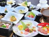 春の旬彩和食会席一例