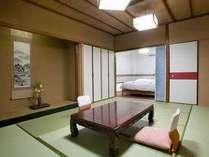 オーシャンビューの和洋室(ツイン)カップル・シニアにオススメのお部屋です。