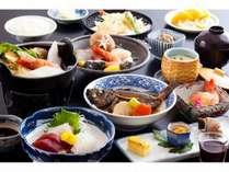 【旬のお奨め会席】 ☆海の幸13品と季節の一人鍋☆お部屋食☆