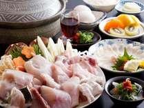 【てっちり鍋】 冬一番 心もからだもぽっかぽか!≪食事処≫