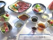 熊本牛のステーキ会席