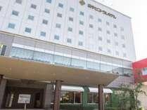 【外観】「横手セントラルホテル 」へようこそ!横手官庁街に位置し、ビジネス・観光に便利です。
