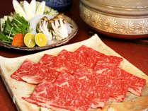 【牛すき鍋】冬は鍋を囲んで温まろう!乾杯ドリンク付き