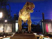 ☆ファミリーに人気【恐竜博物館入場券付】サマーバイキングプラン