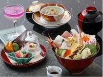 豪華海鮮丼の和食御膳&約40種類の朝食和洋バイキングで大満足!10月以降~