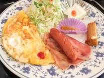#【ワンプレート朝食】主食はご飯、又は、パンからお選びいただけます。