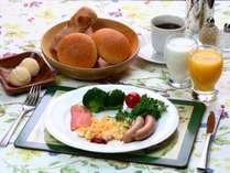 【朝食】全体の一例になります。