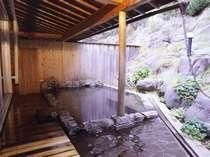 露天風呂(天然掛け流し24時間利用可)