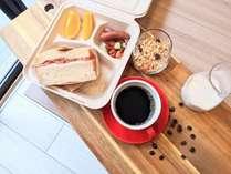 【朝食】日替わりワンプレートでご用意しております。