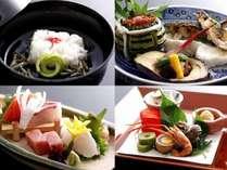 ☆厳選した食材を使用。夏の特選料理一例。