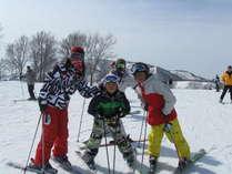 リフト券無料のスキーこどもの日プラン(1月17日) 石打丸山スキー場ゲレンデ前のペンション
