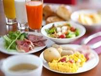 【朝食ビュッフェ】道産素材をふんだんに使った朝食